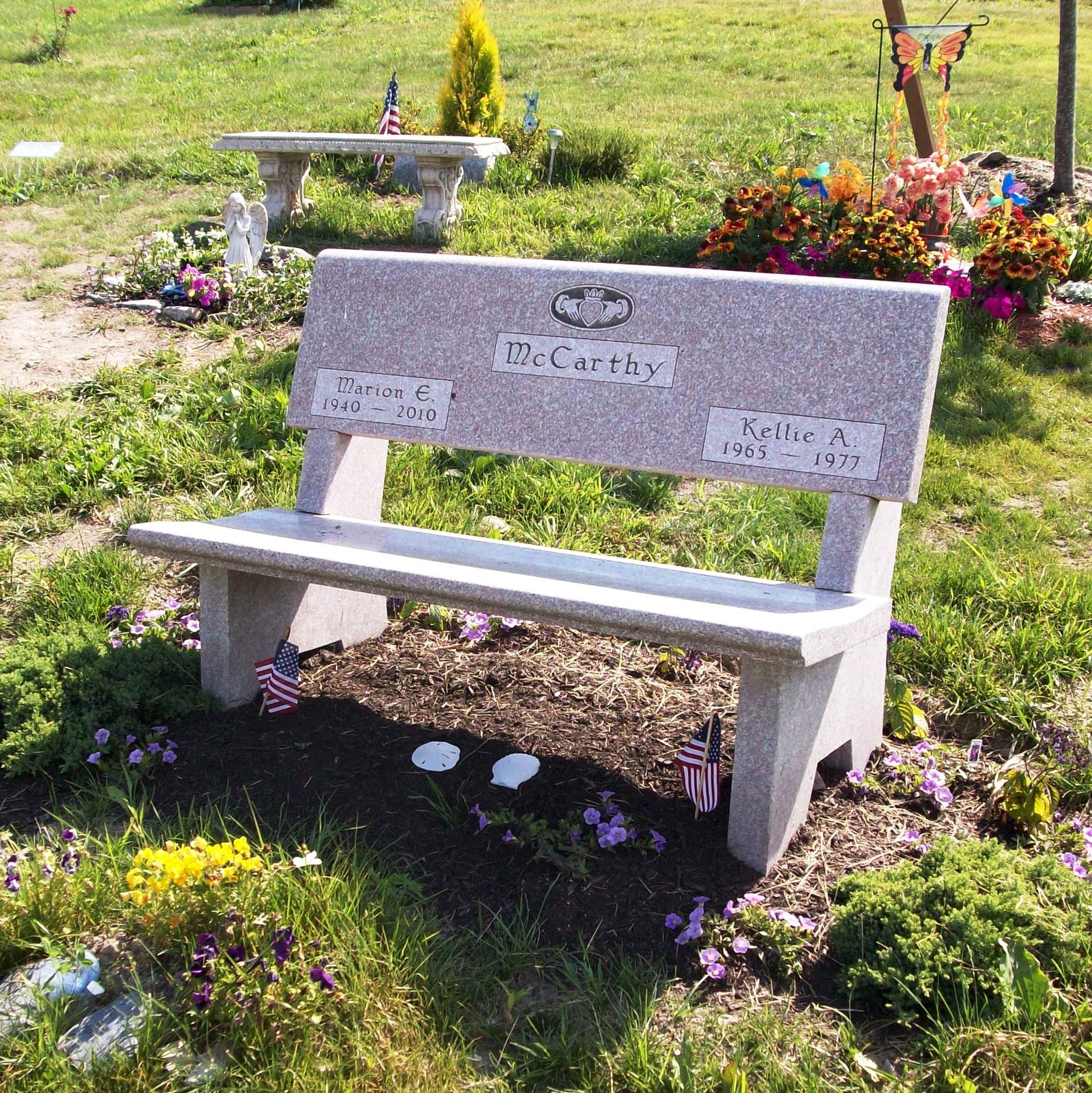 Headstone bench 28 images personalized memorial Cemetery benches